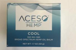 100 MG CBD BROAD SPECTRUM HEMP OIL BALM, COOL