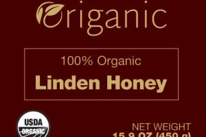 100% Organic Linden Honey