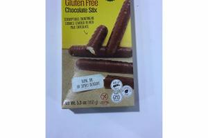 CHOCOLATE STIX SCRUMPTIOUS SHORTBREAD COOKIES COVERED IN RICH MILK CHOCOLATE