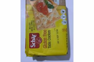 GLUTEN FREE TABLE CRACKERS