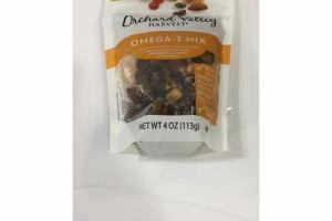 WALNUTS, DRIED SWEETENED CRANBERRIES, ALMONDS & PISTACHIOS OMEGA-3 MIX