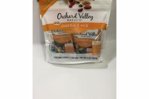 WALNUTS, DRIED SWEETENED CRANBERRIES, ALMONDS & PISTACHIOS OMEGA - 3 MIX