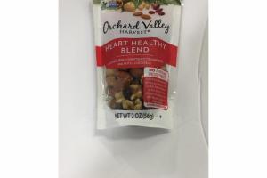 ALMONDS, DRIED SWEETENED CRANBERRIES, WALNUTS & CHICKPEAS HEART HEALTHY BLEND