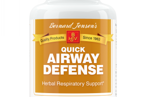 QUICK AIRWAY DEFENSE HERBAL RESPIRATORY SUPPORT DIETARY SUPPLEMENT CAPSULES