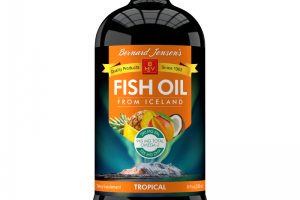 FISH OIL DIETARY SUPPLEMENT, TROPICAL