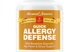 QUICK ALLERGY DEFENSE WITH BIOACTIVE QUERCETIN HAY FEVER & SINUS SUPPORT DIETARY SUPPLEMENT CAPSULES