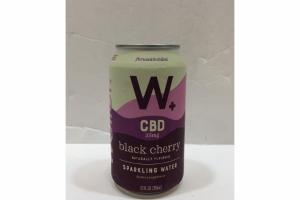 BLACK CHERRY SPARKLING WATER DIETARY SUPPLEMENT