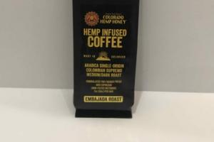 COLOMBIAN SUPREMO MEDIUM/DARK ROAST ARABICA SINGLE-ORIGIN HEMP INFUSED COFFEE