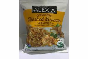 ORGANIC HASHED BROWNS SEASONED YUKON SELECT POTATOES