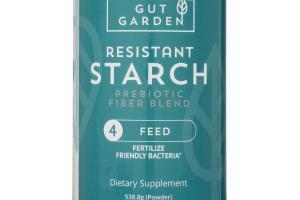 Resistant Starch Prebiotic Fiber Blend Dietary Supplement