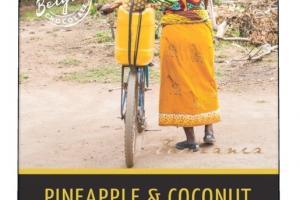 57% Cacao Pineapple & Coconut Dark Chocolate