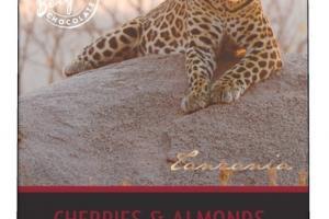 Organic Cherries & Almonds 57% Cacao Dark Chocolate
