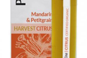 HARVEST CITRUS CERTIFIED ORGANIC ESSENTIAL OIL PERFUME ROLLER