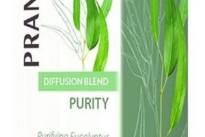 PURITY DIFFUSION BLEND PURIFYING EUCALYPTUS & PEPPERMINT CERTIFIED ORGANIC ESSENTIAL OIL BLEND