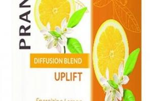 UPLIFT DIFFUSION BLEND, ENERGIZING LEMON & BERGAMOT
