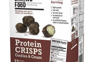 Protein Crisps Cookies & Cream