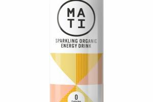 LEMON GINGER SPARKLING ORGANIC ENERGY DRINK