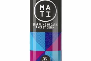 BLUEBERRY POMEGRANATE SPARKLING ORGANIC ENERGY DRINK
