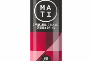 CHERRY SPARKLING ORGANIC ENERGY DRINK
