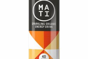 CITRUS SPARKLING ORGANIC ENERGY DRINK