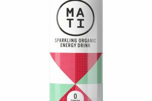 RASPBERRY MINT SPARKLING ORGANIC ENERGY DRINK