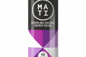PASSION FRUIT SPARKLING ORGANIC ENERGY DRINK