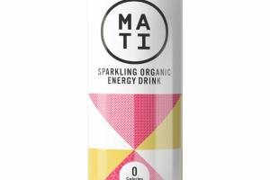 GRAPEFRUIT SPARKLING ORGANIC ENERGY DRINK