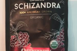 Organic Schizandra Herbal Supplement