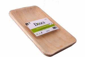 PALM LEAF RECTANGULAR PLATES