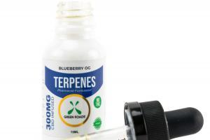 TERPENES 300 MG CBD INFUSED DIETARY SUPPLEMENT, BLUEBERRY OG