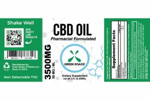 CBD OIL 3500MG DIETARY SUPPLEMENT