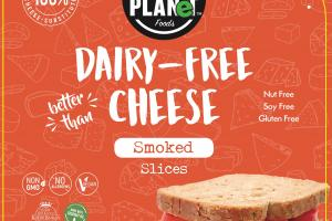 Smoked Dairy-free Cheese Slices