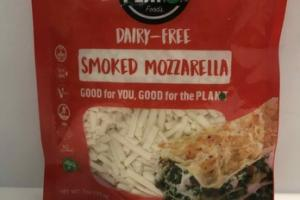 SMOKED MOZZARELLA DAIRY-FREE CHEESE
