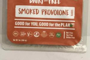 SMOKED PROVOLONE DAIRY-FREE SLICES