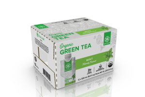 MINT GREEN TEA WITH NATURAL ELECTROLYTES