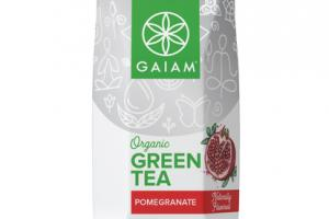 POMEGRANATE FLAVORED ORGANIC GREEN TEA