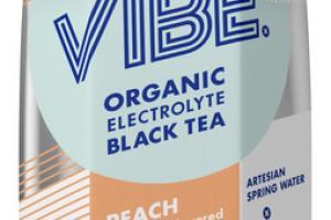 PEACH ORGANIC ELECTROLYTE BLACK TEA