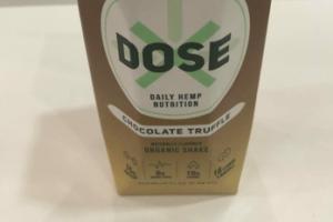 CHOCOLATE TRUFFLE ORGANIC SHAKE