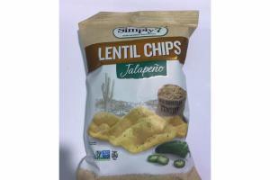 JALAPENO LENTIL CHIPS