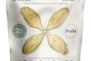BASIL & THYME STEAMED & MARINATED SNACK ARTICHOKES