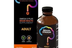 LIME MANGO ADULT OMEGA-3 PLUS BRAIN HEALTH SUPPLEMENT
