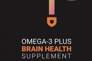 LIME MANGO ADULT 50+ OMEGA-3 PLUS BRAIN HEALTH SUPPLEMENT