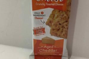 AGED CHEDDAR CRUNCHY TOASTED CHEESE