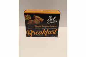 VEGGIE SAUSAGE PATTIES BREAKFAST