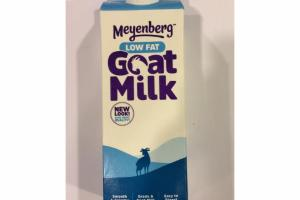 LOW FAT GOAT MILK