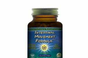 INTESTINAL MOVEMENT FORMULA DIETARY SUPPLEMENT VEGAN CAPS