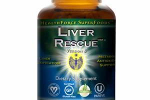 LIVER RESCUE DIETARY SUPPLEMENT VEGAN CAPS