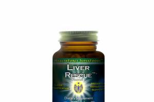 LIVER RESCUE VERSION 6 DIETARY SUPPLEMENT VEGANCAPS