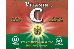 ACEROLA CHERRY VITAMIN C V.2 DIETARY SUPPLEMENT VEGAN CAPS