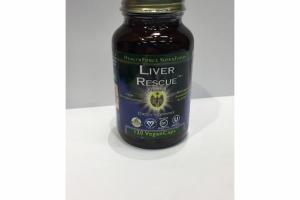 LIVER RESCUE VEGAN CAPS DIETARY SUPPLEMENT